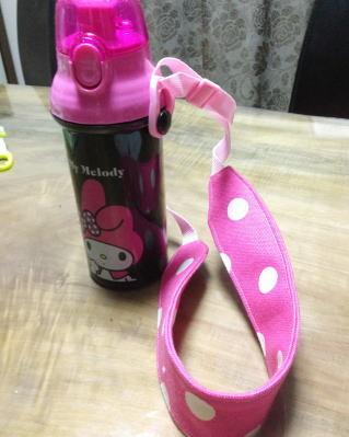 子供の水筒 ストラップ