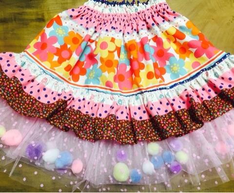 子供のスカート完成!