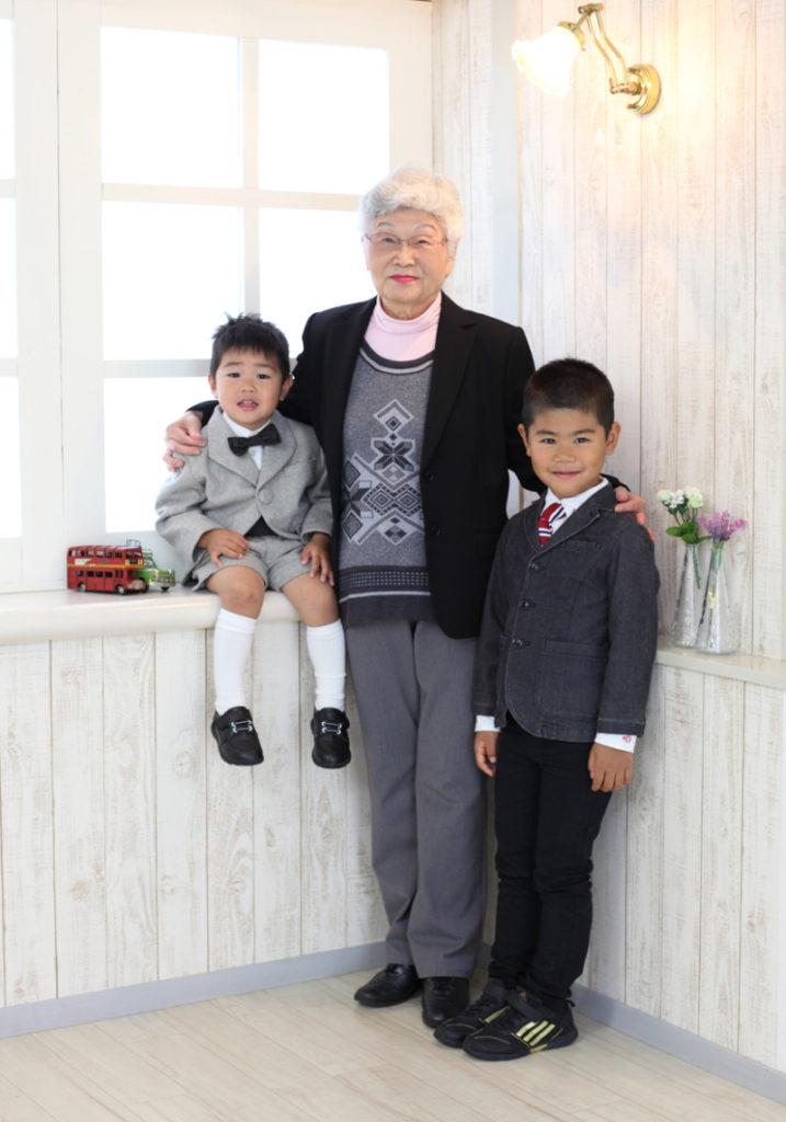 おばあ様の手作り衣装 七五三