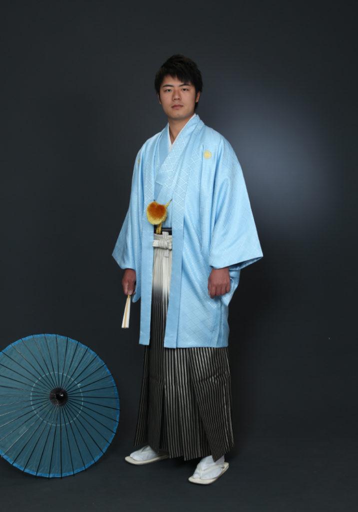 紋付き袴の成人式
