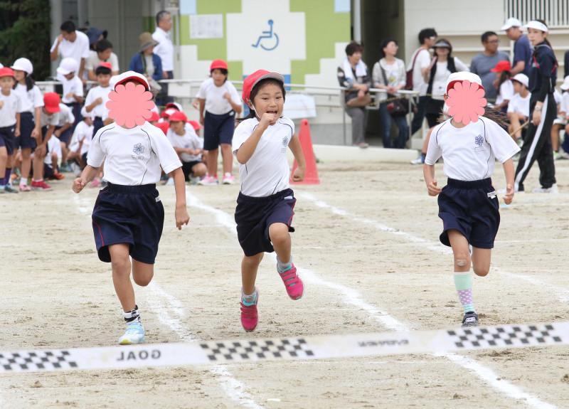 娘の小学校の運動会