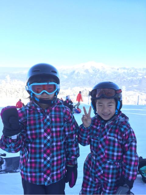 定休日のスキー