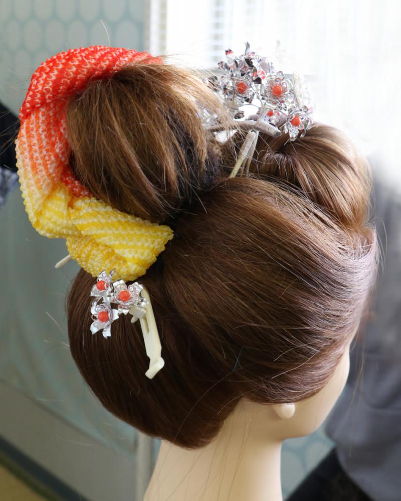 日本髪の講習会