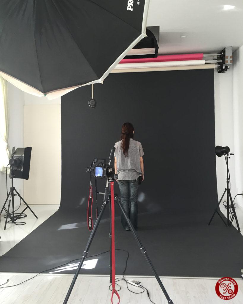 新しいスタジオのカメラテスト