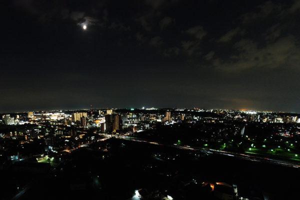 ドローン夜景